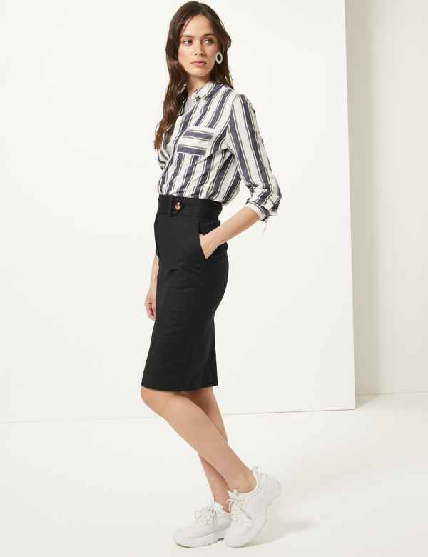 c35b9ae1d9 Womens Black Skirts