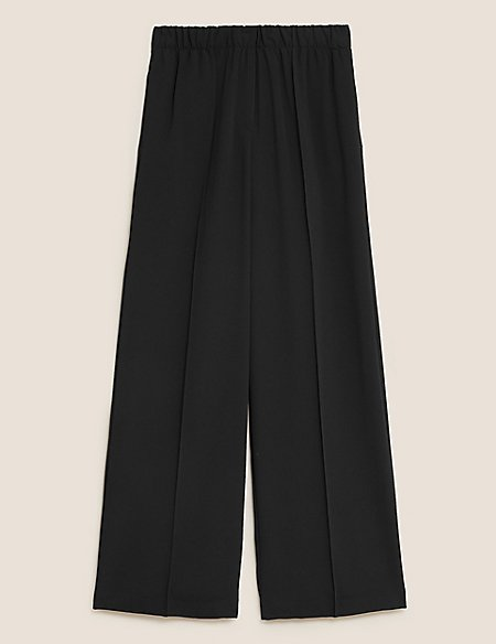 Asymmetric Panel Detail Wrap Midi Skirt