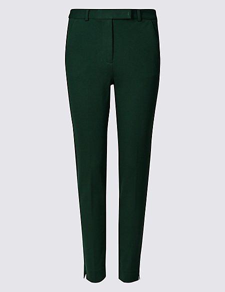 b81e3f54d8c3e Slim Leg Ankle Grazer Trousers