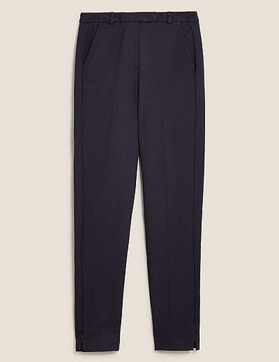bc73c0f198 Slim Leg Ankle Grazer Trousers | Marks & Spencer London