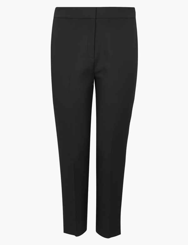 d0e336329d529 CURVE Side Stripe Straight Leg Trousers