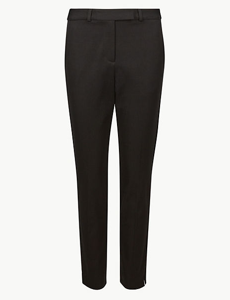 CURVE Slim Fit Ankle Grazer Trousers