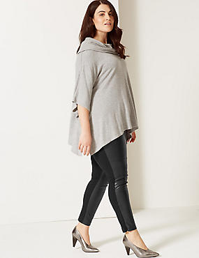 CURVE Side Zip Ponte Leggings