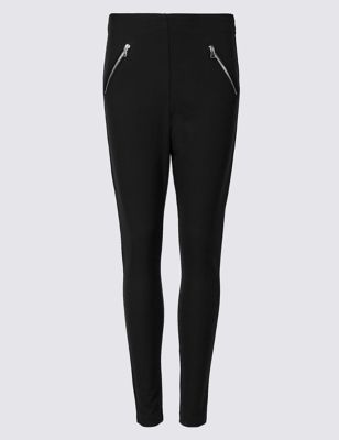 Skinny Leg Trousers by Marks & Spencer