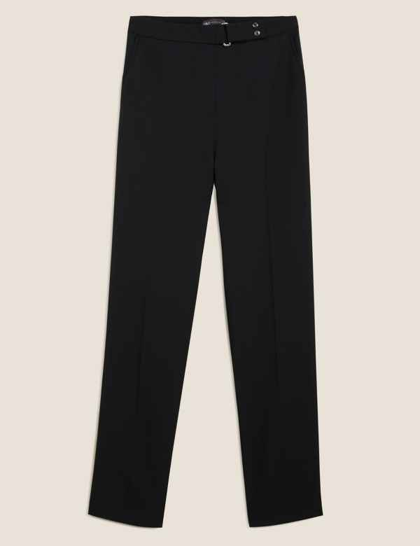 9ffd7bee4d M&S Collection Trousers & Chinos | Straight Leg Trousers | M&S