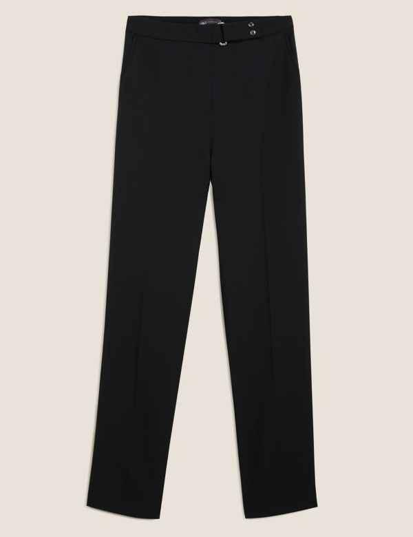 2c4637a0b380de Womens Black Trousers & Leggings  M&S