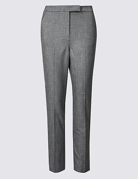 Side Stripe Slim Leg Trousers