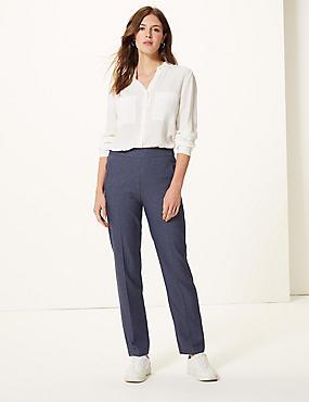 Kalhoty s rovnými nohavicemi 3551d05a87