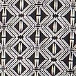 PETITE Geometric Print Slim Leg Trousers, BLACK MIX, swatch