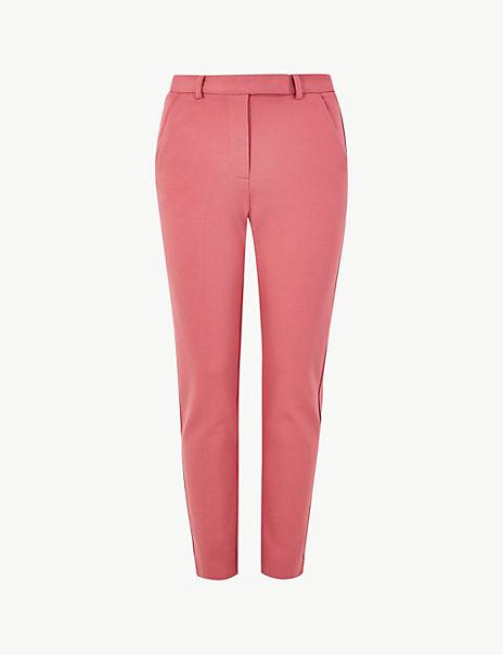 Ponte Slim Leg Ankle Grazer Trousers