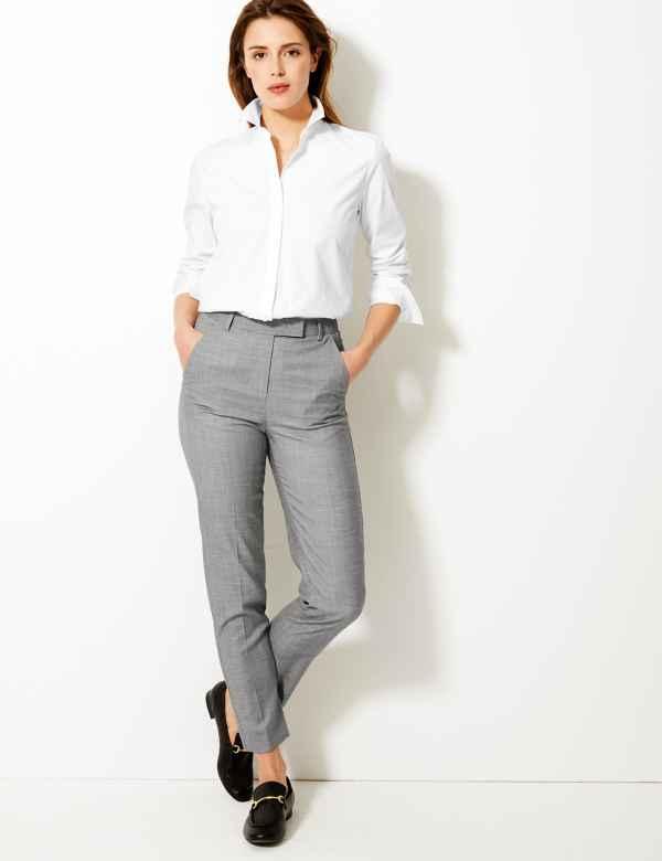 6fcf09c24f Womens Slim Fit Trousers & Leggings   M&S