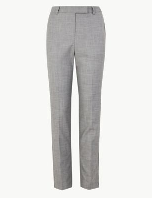 d56ffbe8a5b002 Slim Leg Ankle Grazer Trousers £35.00