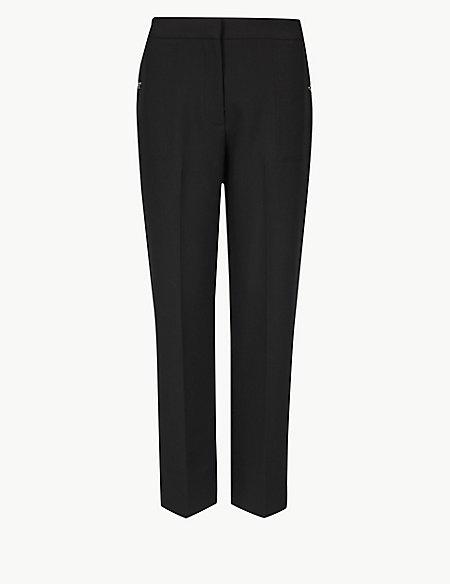 Straight Leg 7/8th Trousers