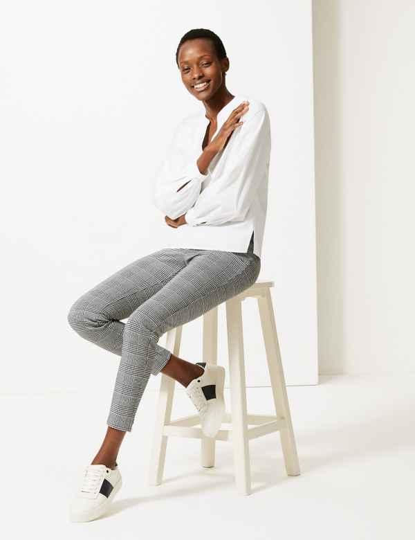 457c262169899b Womens Skinny Fit Trousers & Leggings | M&S