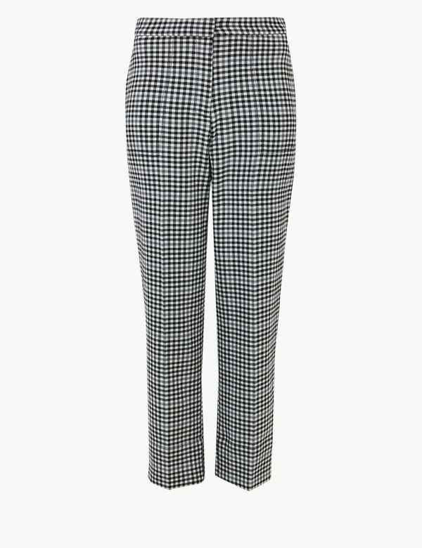 06f9d47fdf M&S Collection Trousers & Chinos | Straight Leg Trousers | M&S