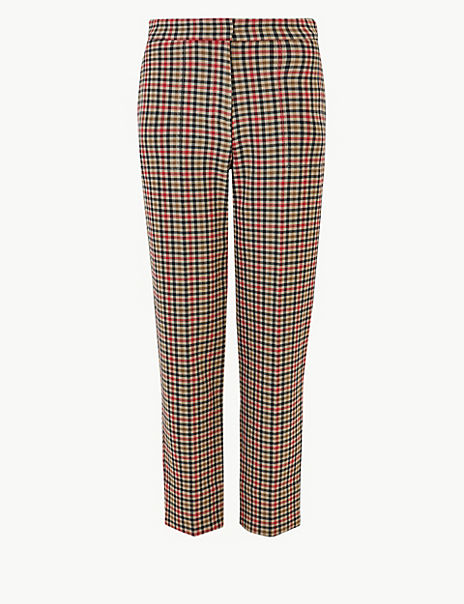 Evie Checked 7/8th Trousers