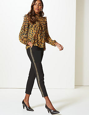 Embellished Side Stripe Trousers