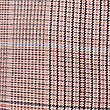 Cotton Checked Straight 7/8th Leg Trousers, PINK MIX, swatch