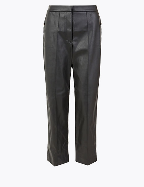 Pintuck 7/8th Trousers