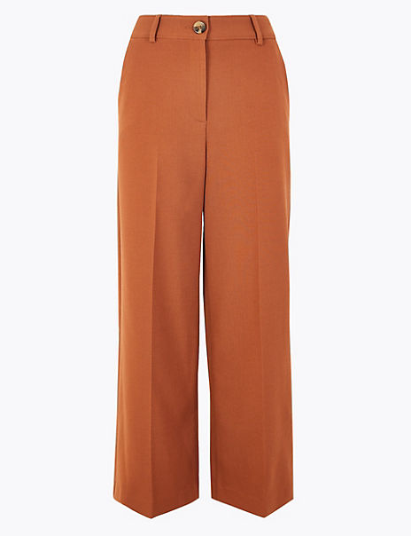 Wide Leg 7/8th Trousers