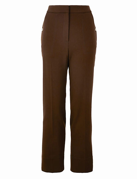 Evie Straight Leg 7/8th Trousers