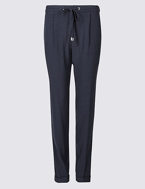 81b7982d2 Side Stripe Tapered Leg Trousers | M&S Collection | M&S