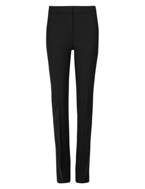 Wool Rich Modern Slim Leg Trousers
