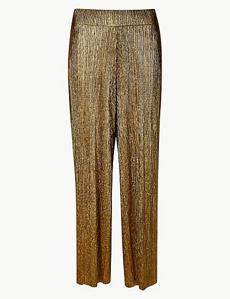 Sparkly Wide Leg Trousers