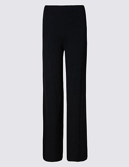 PETITE Wide Leg Trousers
