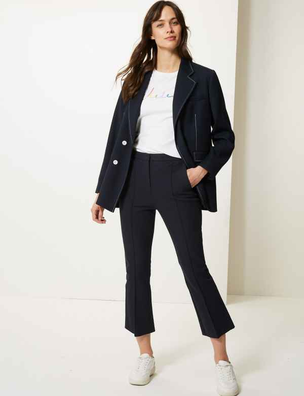 bbf0ad5d85ac Trousers, Chinos & Leggings | Women | M&S IE