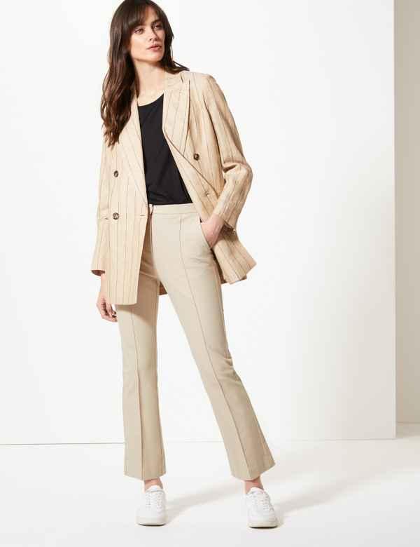 015b17d55e Trousers, Chinos & Leggings | Women | M&S IE