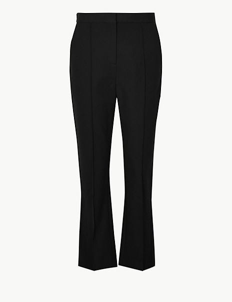 Cropped Kickflare Trousers