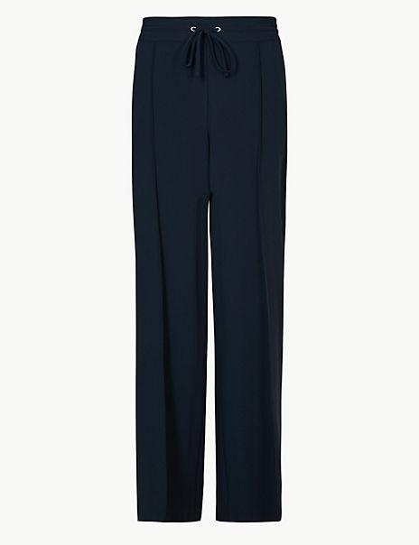 CURVE Wide Leg High Waist Trousers