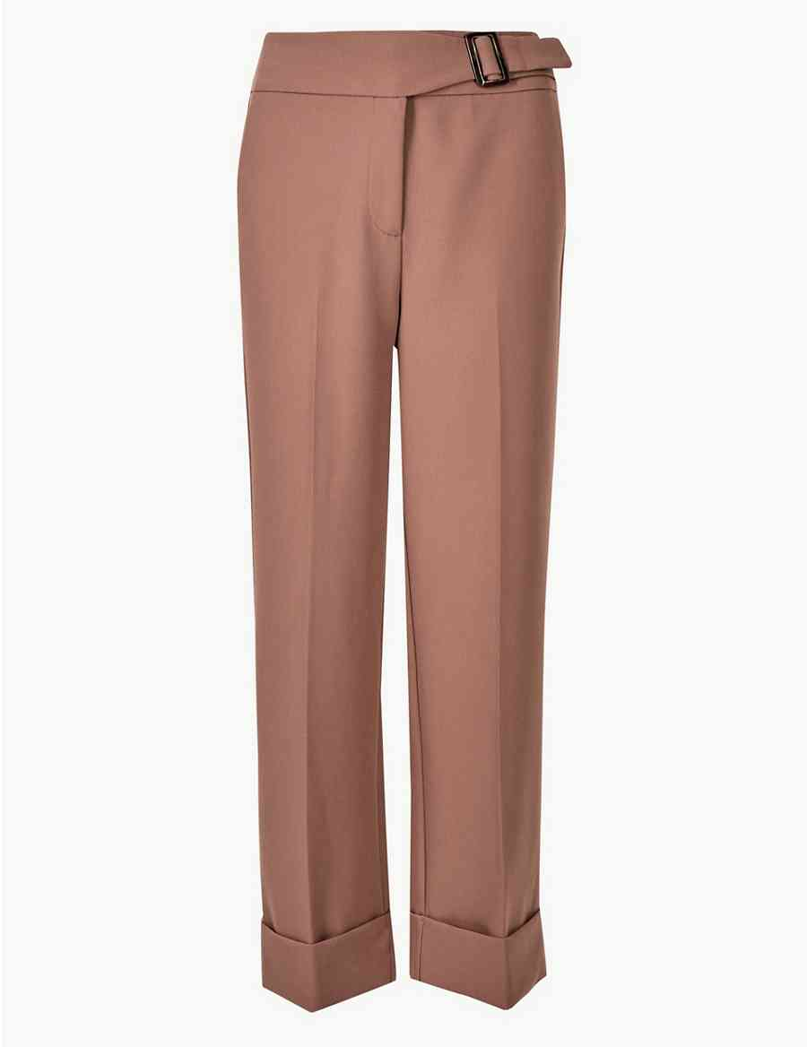 bf43fbecdca2a Wide Leg Ankle Grazer Trousers