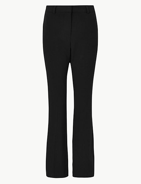 Slim Boot Cut Trousers
