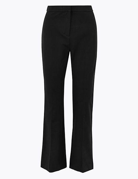 Cotton Rich Kickflare 7/8th Trousers