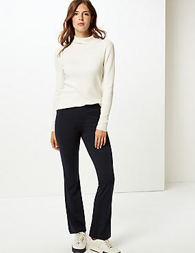 Ponte Slim Bootcut Trousers