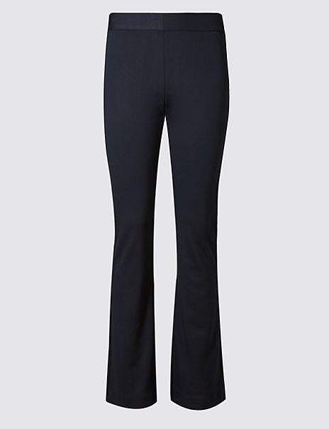 Ponte Slim Bootcut Trousers