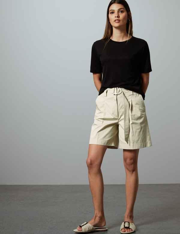 92ce472172e0d Womens Shorts | Ladies Denim, Chino & Cargo Shorts | M&S