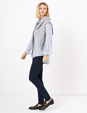 Pull-on Skinny Leg Treggings