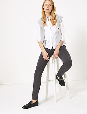 Pull-on Skinny Leg Treggings