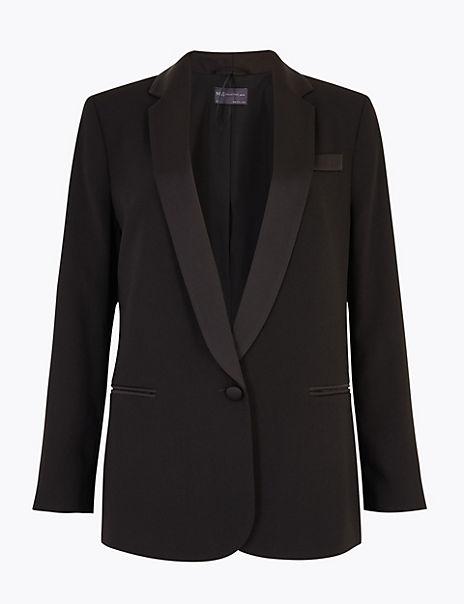 PETITE Tuxedo Blazer