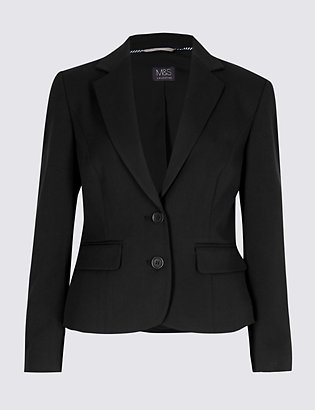 Petite Single Breasted Blazer by Standard Tracked Delivery