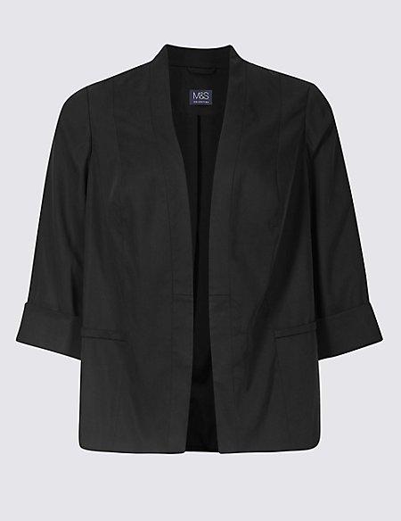 CURVE 3/4 Sleeve Blazer