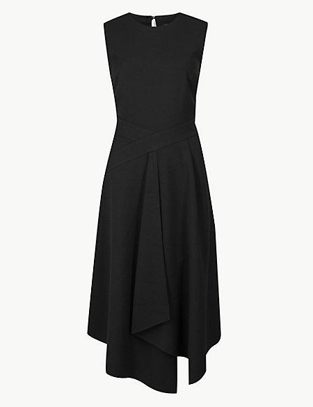 Fit & Flare Midi Dress