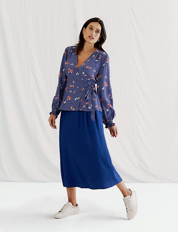 Midaxi A-Line Skirt