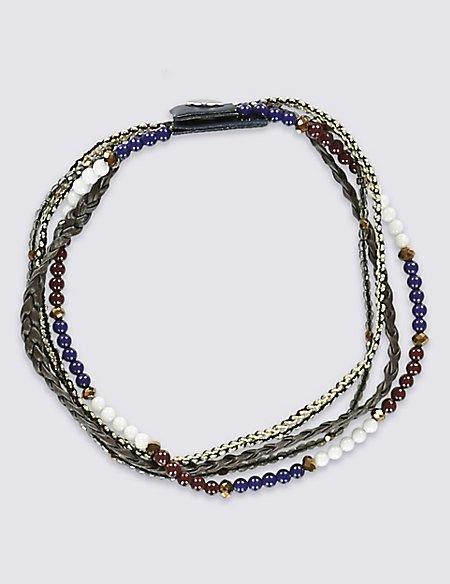 Wrap Bead Bracelet