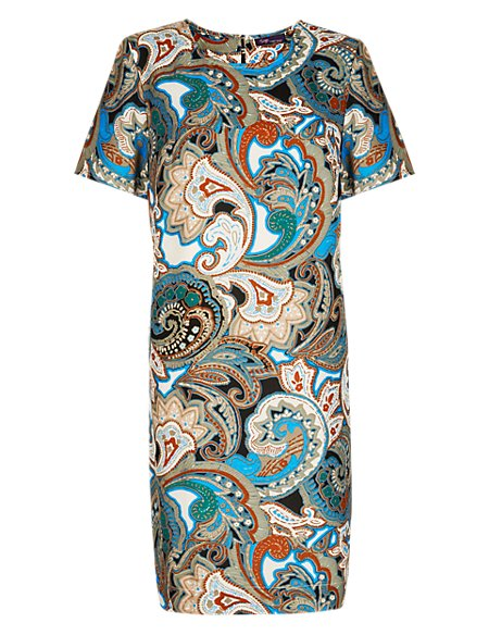 Twiggy for M&S Collection Paisley Shift Dress