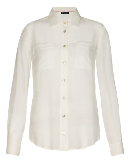 b50d3653be67d Product images. Skip Carousel. Best of British Pure Silk Shirt