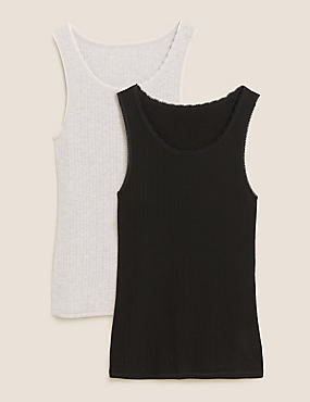 2pk Thermal Built-up Shoulder Vests